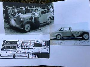 【送料無料】模型車 モデルカー スポーツカー アルファロメオグランスポーツキットイタリアabc brianza brk43343 alfa romeo 6c 1750 gran sportgrummer 1933 143 kit italy