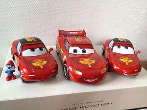 【送料無料】模型車 モデルカー スポーツカー フラッシュマックィーンダイカストflash mcqueen lightning tia mia limited edition diecast 118 mtal 118 cars