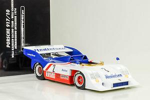 【送料無料】模型車 モデルカー スポーツカー ニュルブルクリンクポルシェインターシリーズ#ミニム1974 porsche 91710 winner nrburgring interserie 2 willi kauhsen 118 minicham