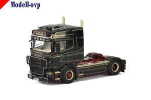 【送料無料】模型車 モデルカー スポーツカー モデルscania r highline norman lichy transporte wsi models wsi 012105