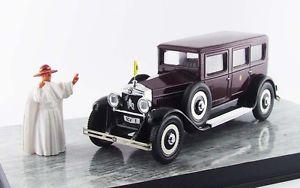 【送料無料】模型車 モデルカー スポーツカー フィアットパパパパスタッフモデルリオfiat 525 papa pio xi personal car with papa figure 143 model rio