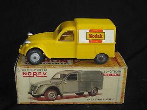 【送料無料】模型車 モデルカー スポーツカー シトロエンコダックab650 norev ancien citroen 2cv commerciale kodak azu 143 en boite