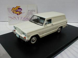 【送料無料】模型車 モデルカー スポーツカー #カイザージープパネルglm 110101 kaiser jeep panel delivery baujahr 1962 in wei 143 neu
