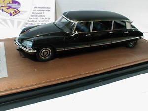 【送料無料】模型車 モデルカー スポーツカー シトロエンサロンglm 220001 citron ds limousine baujahr 1969 in schwarz 143 neu
