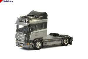 【送料無料】模型車 モデルカー スポーツカー モデルscania r highline janssens transport wsi models wsi 012541