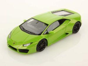 【送料無料】模型車 モデルカー スポーツカー ランボルギーニlooksmart lamborghini huracan lp5802 2015 verde mantis 143 ls455c