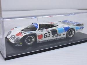 【送料無料】模型車 モデルカー スポーツカー スパークポルシェ#ルマンkbssparkkb 143 porsche 962 c 13 le mans 1990 kbs009