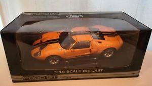 【送料無料】模型車 モデルカー スポーツカー フォードコンセプトオレンジ118 beanstalk group ford gt concept 2003 orange mib no exoto gmp autoart