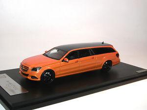【送料無料】模型車 モデルカー スポーツカー メルセデスベンツビンツロングオレンジカーボンブラック
