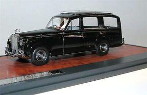 【送料無料】模型車 モデルカー スポーツカー マトリックススケールモデルロールスロイスシルバークラウドシンプソンスレーターmatrix scale models 1957 rolls royce silver cloud simpson amp; slater hearse 143