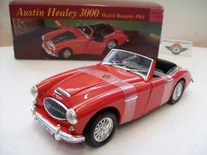 【送料無料】模型車 モデルカー スポーツカー オースティンヒーリーレッドハットaustin healey 3000, red, 1961, eduscho ertl 118, ovp