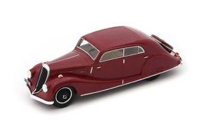 【送料無料】模型車 モデルカー スポーツカー カルトダークレッドwalter regent sodomka dark red 1934 autocult 143 ac04014