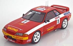 【送料無料】模型車 モデルカー スポーツカー スカイラインrバサースト118 autoart nissan skyline gtr r32 winner bathurst