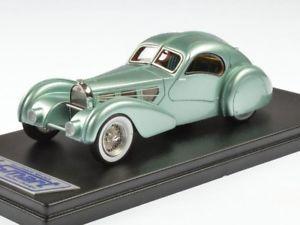 【送料無料】模型車 モデルカー スポーツカー ブガッティタイプコンペティションクーペbugatti type 57s competition coup aerolithe green1935 ls 143 ls442