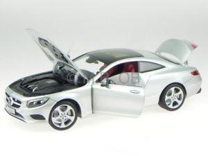 【送料無料】模型車 モデルカー スポーツカー メルセデスクラスクーペイリジウムシルバーモデルカーmercedes c217 sklasse coupe 2014 iridium silber modellauto norev 118