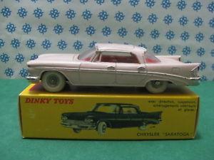【送料無料】模型車 モデルカー スポーツカー ビンテージクライスラーサラトガvintage  chrysler saratoga     dinky toys 550