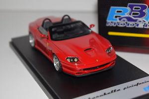 【送料無料】模型車 モデルカー スポーツカー フェラーリバルケッタピニファリーナbbr ferrari 550 barchetta pinifarina 2000 bbr137a red 143