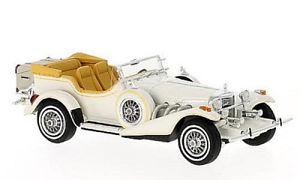 【送料無料】模型車 モデルカー スポーツカー エクスカリバーシリーズフェートンモデルネオスケールモデルexcalibur serie iii phaeton white 143 model neo scale models