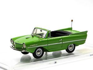 【送料無料】模型車 モデルカー スポーツカー ハンストリッペルグリーンスケールホワイトメタルamphicar typ 770 hans trippel baujahr 19611964 grn mastab 143 weimetall