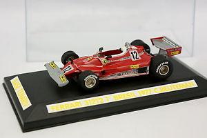 【送料無料】模型車 モデルカー スポーツカー キットモンフェラーリグランプリtenariv kit mont 143 f1 ferrari 312 t2 winner bresil gp 1977 reuteman