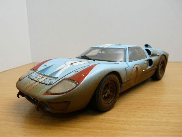 【送料無料】模型車 モデルカー スポーツカー フォードルマンford gt40 n1 2nd 24h du mans 1966 version salie 118