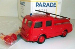 【送料無料】模型車 モデルカー スポーツカー パレードモデルparade models 150 15 simca cargo fpt 1953 gugumus fire engine
