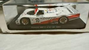 【送料無料】模型車 モデルカー スポーツカー スパークポルシェ#ルマンkbssparkkb 143 porsche 962 c 10 le mans 1987 kbs024