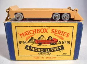 【送料無料 moko】模型車 gut モデルカー スポーツカー マッチトレーラーモコボックスブラウンmatchbox 16a rw 16a trailer hellbraun gut in moko box, フタバ図書:8ae92077 --- rakuten-apps.jp