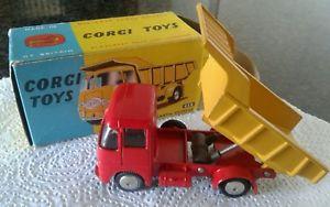 【送料無料】模型車 モデルカー スポーツカー コーギーモデルボックスcorgi toys erf model 64g earth dumper n458 nmint in box