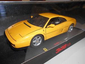 【送料無料】模型車 モデルカー スポーツカー ホットホイールエリートフェラーリハードトップhwev7437 by hot wheels elite ferrari 348 tb hard top 118