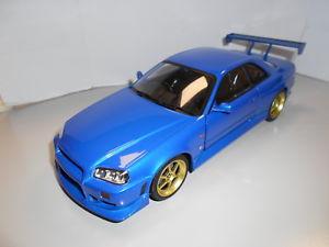 【送料無料】模型車 モデルカー スポーツカー スカイライングアテマラgl19032 by greenlight nissan skyline gtr r34 1999 118