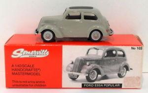 【送料無料】模型車 モデルカー スポーツカー モデルスケールフォードsomerville models 143 scale 103 ford e93a popular fawn