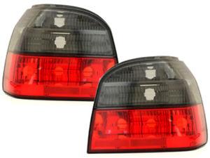 【送料無料】模型車 モデルカー スポーツカー テールランプゴルフ taillights vw golf 3 iii 9197 red smoke sv ltvw41es xino ch