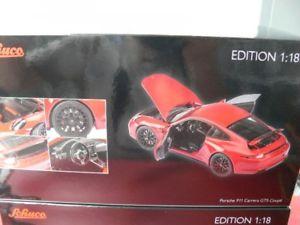 【送料無料】模型車 モデルカー スポーツカー ポルシェカレーペレッド118 schuco porsche 911 991 carrera gts coupe rot