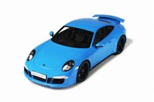【送料無料】模型車 モデルカー スポーツカー グアテマラポルシェカレラgt spirit 085 porsche 911 991 carrera 4s blau 118 limited 11000