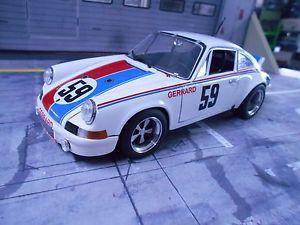 【送料無料】模型車 モデルカー スポーツカー ポルシェレース#デイトナグレッグヘイウッドporsche 911 rs racing brumos 59 24 daytona winner gregg haywood umbau uh 118