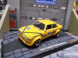 【送料無料】模型車 モデルカー スポーツカー スタインメッツオペル#ツーリングカーopel kadett b steinmetz gr2 105 schlter tourenwagen bergren resin umbau 143