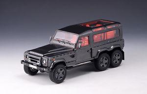 【送料無料】模型車 モデルカー スポーツカー カーンモデルkahn huntsman 6x6 anthracite 2014 glm models 143 219001