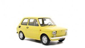 【送料無料】模型車 モデルカー スポーツカー フィアットプリマシリーズモデルfiat 126 prima serie 1972 gelb lm103e 118 laudoracing model