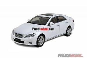 【送料無料】模型車 モデルカー スポーツカー ホワイトトヨタpaudi toyota reiz 2010 weiss 118