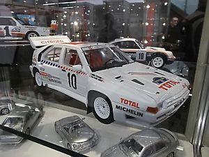 【送料無料】模型車 モデルカー スポーツカー シトロエンラリースウェーデンオットーcitroen bx 4tc grb rallye schweden wm 1986 andruet 12000 otto rar 118
