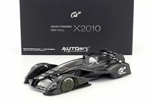 【送料無料】模型車 モデルカー スポーツカー レッドブルグランツーリスモred bull x2010 gran turismo 5 carbon 118 autoart