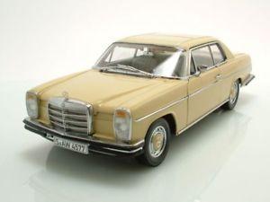 【送料無料】模型車 モデルカー スポーツカー メルセデスクーペイエローラインジェットコースターモデルカーサンmercedes 8 strichachter coupe w115 1973 gelb, modellauto 118 sun star