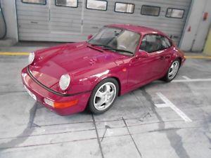 【送料無料】模型車 モデルカー スポーツカー ポルシェカレラパープルバイオレットporsche 911 964 carrera rs lila violett 1989 resin gt spirit 118