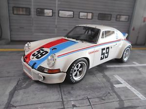 【送料無料】模型車 モデルカー スポーツカー ポルシェレース#デイトナporsche 911 rs racing brumos 59 24 daytona winner gregg haywoo gt spirit 118