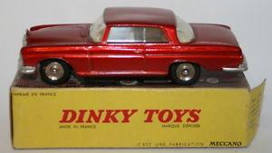 【送料無料】模型車 モデルカー スポーツカー ビンテージスケールメルセデスベンツセレッドvintage dinky toys 143 scale 533 mercedes benz 300 se met lt red