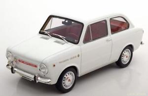 【送料無料】模型車 モデルカー スポーツカー フィアットアバルトホワイト118 laudoracingmodels fiat abarth ot 1000 1964 white