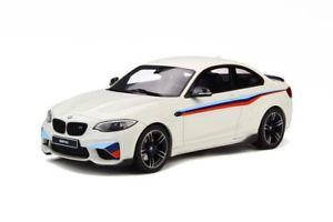 【送料無料】模型車 モデルカー スポーツカー パフォーマンスアルパインホワイトモデルカーグアテマラbmw m2 m performance alpin wei modellauto 118 gt spirit