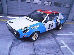 【送料無料】模型車 モデルカー スポーツカー ルノーラリー#ヘンリーオットーrenault 17 gordini gr5 rallye 1975 80 therier elf rar resin otto 118