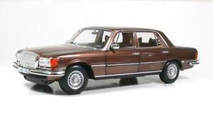 【送料無料】模型車 モデルカー スポーツカー メルセデスベンツブラウンメタリックnorev b66040643 mercedesbenz 450 sel 69 1976 braun metallic 118